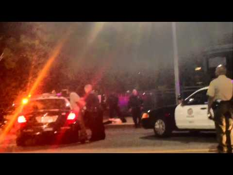 LAPD Excessive Force Black Female USC Student