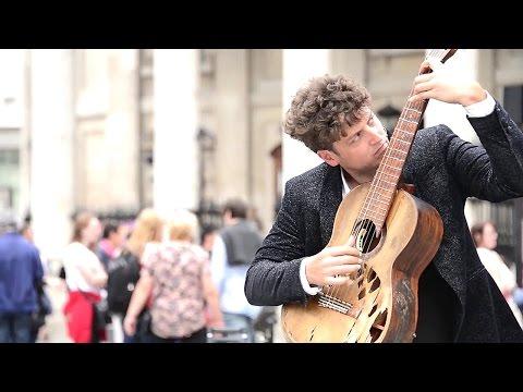 とても良い音色の神業ストリートギターパフォーマンス