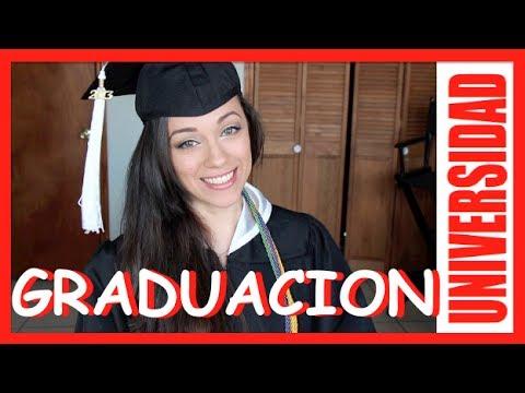 Maquíllate para tu graduación de Universidad