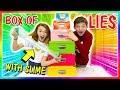 BOX OF LIES SLIME MAKING CHALLENGE | We Are The Davises