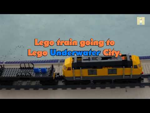 New Lego train under water