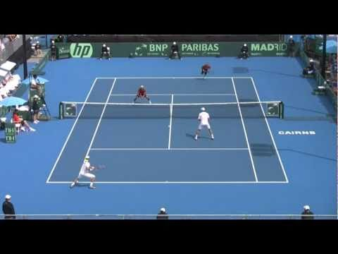 Australia v Belgium Davis Cup day 2 action and interviews