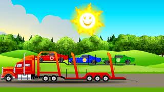 Mommy garage  colorful cars video for kids