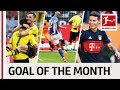 Top 10 Goals in April 2018 - Vote for the Goal of the Month