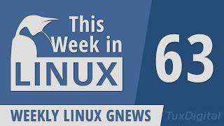 Emacs, OBS, GRUB, Flatpak, WINE, MX Linux, NixOS, Proxmox, Plasma Mobile | This Week in Linux 63