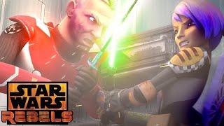 Sabine vs. Gar Saxon   Star Wars Rebels   Disney XD