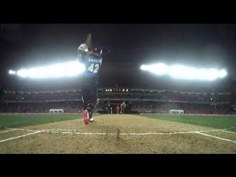 SUPERMAN BRENDON McCULLUM vs Australia - Unbelievable Innings! Freak !