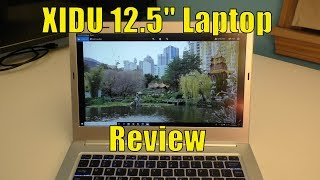 XIDU 12.5 inch Windows 10 Laptop REVIEW, 2K WQHD Display (2560 x 1440)