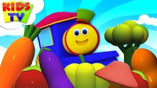 Learn Vegetables | Bob The Train | Learning Videos for Kids | Song For Babies by Kids Tv