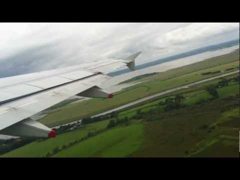 Take off from Shannon Airport aboard BA001 heading to New York JFK