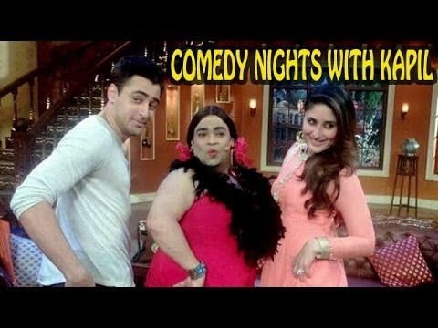 Comedy Nights with Kapil : Kareena Kapoor & Imran Khan on the sets