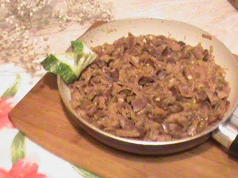 Как готовить желудки - видео
