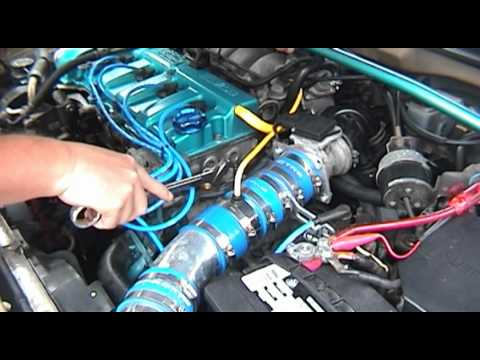 Mazda 626 - Replacing Engine Coolant Temp Sensor