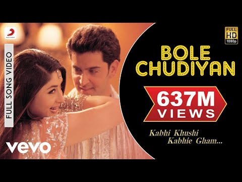 Download Lagu K3G - Bole Chudiyan Video | Amitabh, Shah Rukh, Kareena, Hrithik MP3 Free