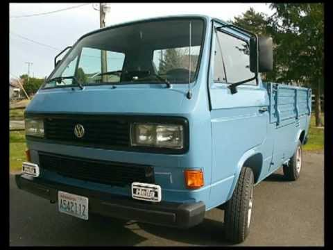 Exceptionally Rare 1985 Volkswagen Transporter Single Cab