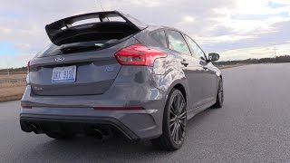 How To Launch and Drift the 2017 Ford Focus RS!