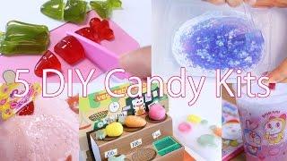 5 Kawaii DIY Candy Kitsfor ASMR ~ 5つのおもしろ知育菓子