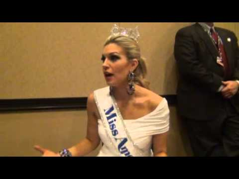 2013 Miss America Interview Las Vegas