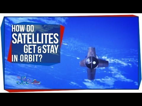 How Do Satellites Get & Stay in Orbit?