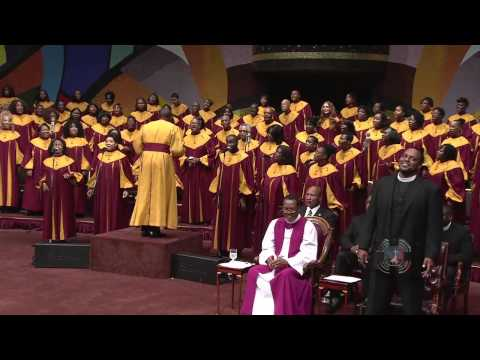 West Angeles COGIC Choir Displaying Their Singing Skills HD