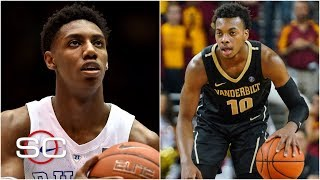 Knicks now considering Darius Garland over RJ Barrett at No. 3 overall | SportsCenter