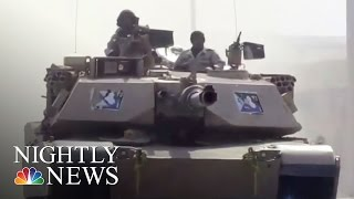 U.S.-Backed Iraqi Forces Continue Assault On Mosul, Retake Airport | NBC Nightly News