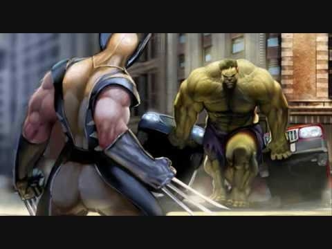 Wolverine Vs Hulk Amv video
