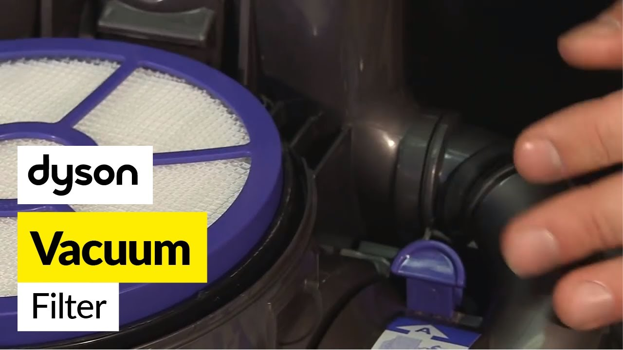 How to change the filters on a vacuum dyson dc33 youtube for Dyson dc39 motor replacement