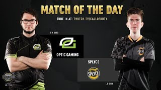 Optic Gaming vs Splyce | CWL Pro League 2019 | Cross-Division | Week 6 | Day 3