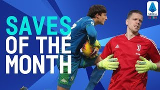 Turati's Impressive Debut & Szczęsny's Incredible Double Save | Saves of The Month | Serie A TIM
