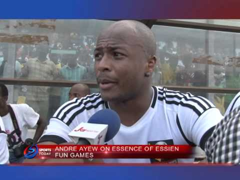 KWAME DWOMOH SPEAKS TO ANDRE AYEW