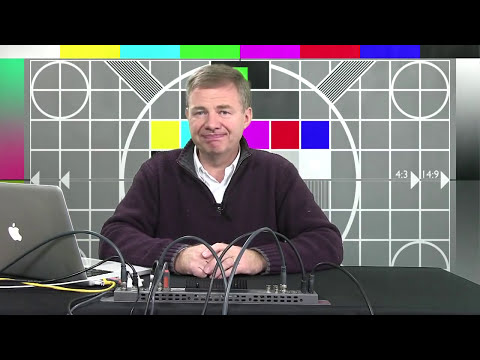 StudioTech 27: Blackmagic Design Television Studio - In use and Chroma Keying