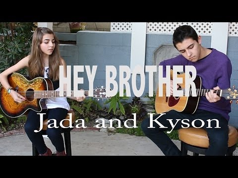 Avicii's 'hey Brother' Cover By Jada Facer And Kyson Facer video
