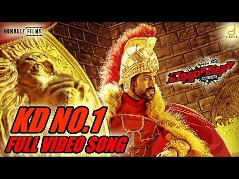 Masterpiece - KD No 1 - Kannada Movie Song Video   Yash   V Harikrishna, Manju Mandavya