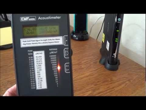 WiFi Radiation - Dangers of WiFi - See It Measured - How To Remediate WiFi Radiation