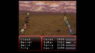 Final Fantasy 6 Snes FFVI vs FFVII