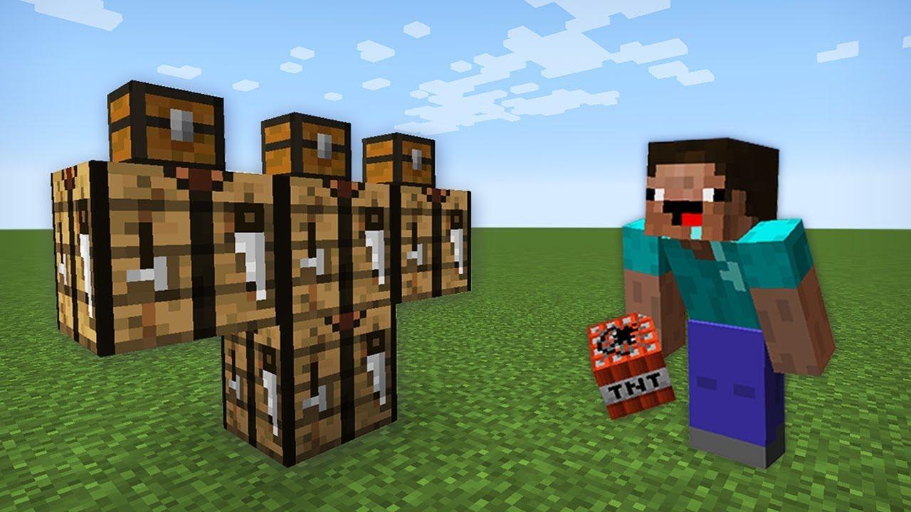 Как сделать жителя из блоков 1