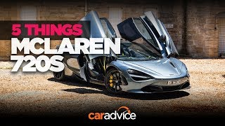 The 2018 McLaren 720S: 5 things we love and hate