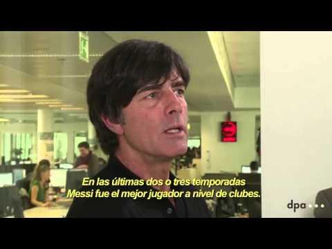 EL DT ALEMÁN JOACHIM LÓW, HABLA DE LOS RIVALES DE SU GRUPO