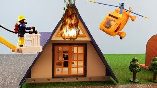 Fireman Sam Toys Episode 22 Fire Holiday Home Wallaby 2 Firefighter Sam Toy 2019 Jupiter Station