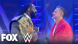 Booker T takes David Arquette to Promo School | WWE BACKSTAGE | WWE ON FOX