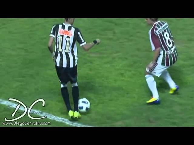 NEYMAR caneta no DIGUINHO (Fluminense x Santos)