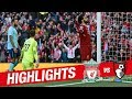 Highlights: Liverpool 3-0 Bournemouth | Mane, Salah & Firmino on target again MP3
