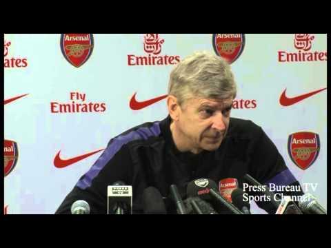 Arsene Wenger Press Conference Pre Liverpool