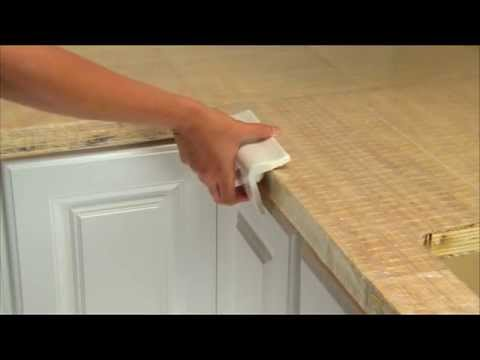 How To Tile A Countertop With Simplemat Youtube