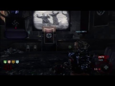 Black Ops Zombie Lvl50 with the Secret Exit!!!!!!