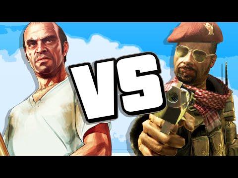 GTA vs COD (RAP BATTLE)