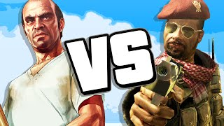 GTA vs COD (RAP BATTLE)