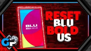Hard Reset no Celular BLU BOLD LIKE US