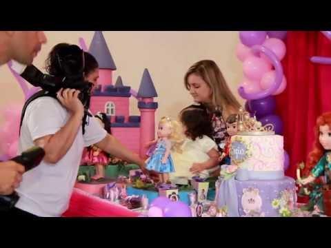 ANIVERSÁRIO DE 2 ANOS SOFIA - Tema Princesa Sofia - Buffet Plus